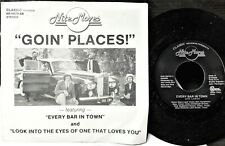 """IOWA BLUES ROCK picture sleeve 45: NITE MOVES """"Goin' Places"""" EVERY BAR IN TOWN"""