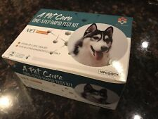 Qty 10 Canine Dog  brucellosis  Rapid HomeTests Includes Syringes & Needles