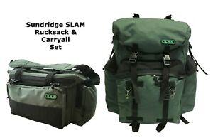 Sundridge Slam Carp Fishing Rucksack & Carryall Set