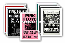 Pink Floyd  - 10 promotional posters - collectable postcard set # 3