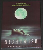 NIGHTWISH usa blu-ray NEW SEALED limited slip cover and booklet BRUCE R COOK