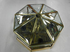 Forte Lighting 6013-2 Polished Brass Ceiling Flushmount