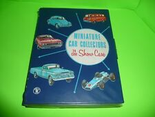 box#10    Vintage Mattel 1966 Miniature Car Collectables 24 Care Show Case