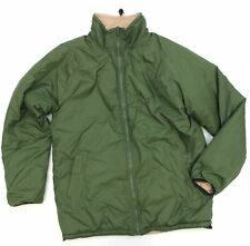 BRITISH ARMY REVERSIBLE THERMAL COLD WEATHER JACKET VARIOUS SIZE OLIVE GREEN