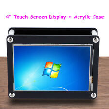 4inch 480x320 Resistive Touch Screen TFT LCD Display For Raspberry Pi 2 3 + Case