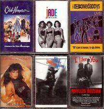 LOT 12 Cassette Tapes SOME SEALED Funk Soul CLUB NOUVEAU JADE BONEDADDYS etc.