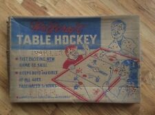 "SUPER RARE VINTAGE ""WOLFCRAFT TABLE HOCKEY ""GAME WITH ORIGINAL BOX .no puck"