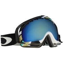 Oakley 59-170 Crowbar Slalom Mint w/ Emerald Iridium Lens Mens Snow Ski Goggles