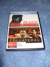 MISSION IMPOSSIBLE & COLLATERAL Region 4 DVD TOM CRUISE