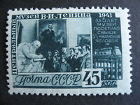 RUSSIA 854 nice MH stamp, hinge remnant, check it out!