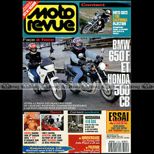 MOTO REVUE N°3120 BMW F650 GUZZI 1100 CALIFORNIA HONDA CB 500 NORTON JOHN PLAYER