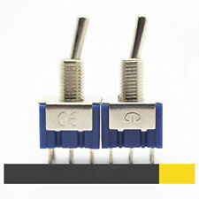 5x Mini Interruptor palanca 6-Pin DPDT ON-ON 6A 125VAC switch conmutador ll