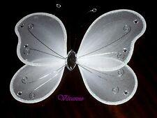 Grand papillon 20x25cm. blanc. Décoration de mariage