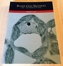 Deepesh N. De - PLANT CELL VACUOLES - AN INTRODUCTION - Softcover Book - CSIRO