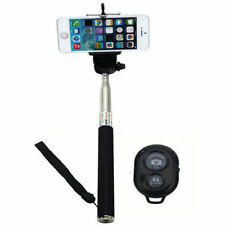 Monopod Selfie Stick Telescopic + Bluetooth Wireless Remote Mobile Phone holder