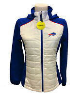 G-III 4her Buffalo Bills Women's First Down Packable Jacket - White/Blue