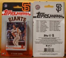 2019 Topps Factory San Francisco Giants Team Set of 17 Cards