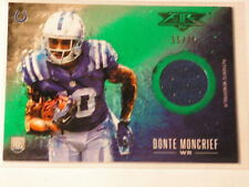 DONTE MONCRIEF 2014 TOPPS FIRE NFL ROOKIE JERSEY CARD 55/75 COLTS