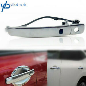 For 2010-2013 Nissan Rogue Front Left Exterior Chrome Door Handle Smart Entry