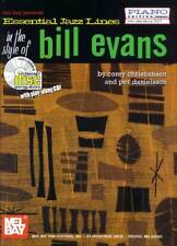 ESSENTIAL JAZZ LINES - BILL EVANS PIANO BOOK + CD NEW