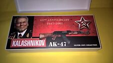 2007 Cook Islands Kalashnikov AK-47 60th Anniversary  Silver Coins SET