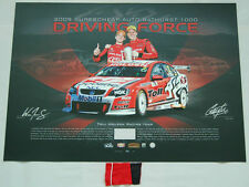 HRT 2009 BATHURST GARTH TANDER WILL DAVIDSON HAND SIGNED LIMITED EDITION PRINT
