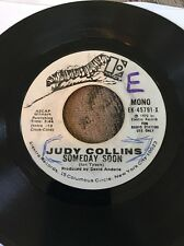 Judy Collins Someday Soon/Suzanne Excellent Condition Promo 45