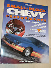 Small-Block Chevy Performance V8 Engine Book Manual By Dave Emanuel 262ci>400ci