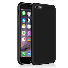 SDTEK Matte Case for iPhone 6s Plus / 6 Plus  Soft Cover (Black)