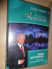 DVD N°19 VIAGGIO NELLA SCIENZA PIERO ANGELA MONDI SOTTERANEI
