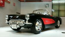 Chevrolet Corvette Cabrio C1 1957 Rot Modellauto 1 24 / Welly