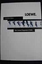 Loewe programma 2001, prezzi, Tech. dati, CONTUR, View Visione, Calida, Xelos, arconda
