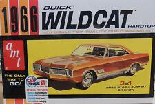 1965 CHEVROLET CHEVELLE MODIFIED STOCK CAR AMT 1:25 SCALE PLASTIC MODEL CAR  KIT