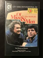 Of Mice And Men Ex-Rental Vintage Big Box VHS Tape English with dutch subs