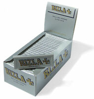 Orignal Rizla Silver Standard/ Regular Size Rolling Papers 50 Booklets