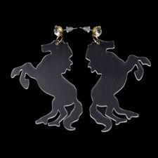 Pferd Ohrstecker Clear Ohranhänger Ohrringe Ohrschmuck Hochzeit Party Schmuck