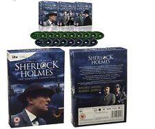 SHERLOCK HOLMES 1984-1994: JEREMY BRETT Complete Remastered Series R2 DVD not US