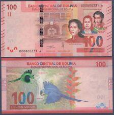 BOLIVIA PNEW***100 BOLIVIANOS***ND 2019***UNC GEM***USA SELLER