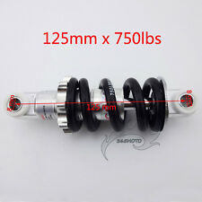 125mm Rear Shock Suspension Spring 750lbs For 47 49 cc 2 Stroke Mini Pocket Bike