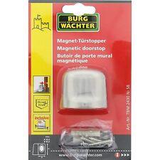 Magnet - Türstopper , Burg - Wächter , Edelstahl - Optik , 2 Stück ,Neu !
