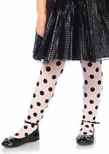 Sheer printed polka dot tights