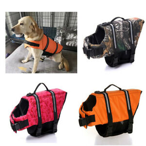 Pets Safety Swimming Suit Dog Life Vest Life Pet Jacket Dogs Printed Swimwear