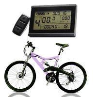 24/36/48V Fahrrad eBike LCD Display Meter Panel Fernbedienung Kilometerzähler