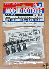 Tamiya 53662 TT-01 Turnbuckle Tie-Rod Set (TT01/TT01E/TT02/TT02D/TGS), NIP