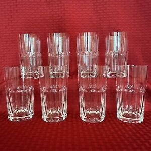 BACCARAT CRYSTAL HIGHBALL GLASSES - 8 AVAILABLE