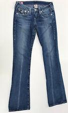 True Religion Jeans 'BECKY' Blue 27 EUC RRP $349 Womens