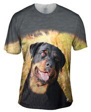 Yizzam- Bashful Rottweiler - New Men Unisex Tee Shirt XS S M L XL 2XL 3XL 4XL