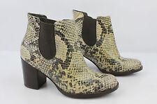 Bottines Boots TEXTO Façon Python Serpent T 36 TTBE