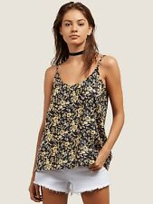 2018 NWT WOMENS VOLCOM YOU WANT THIS TOP $35 S citrus gold cami spaghetti strap