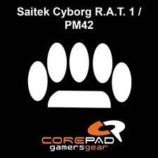 Corepad skatez ratón pies Saitek cyborg r.a.t. 1/pm42